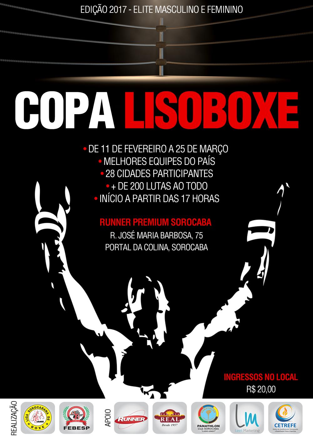cartaz copa lisoboxe 2017